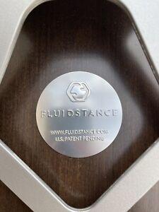"Fluidstance ""The Level"" Walnut Balance Board for Standing Desk - Used"