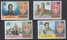 Uganda postfris 1979 MNH 199-202 - Christendom 100 Jaar (k079)