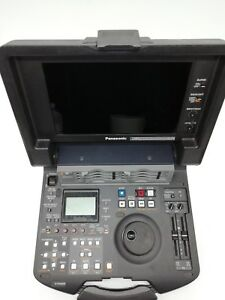 Panasonic AJ-HPM110P P2 hd portable hard disk digital editing video machine