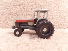ERTL 1/64 Scale Plastic White Farm Equipment 2-180 Tractor With Duals Farm Toy