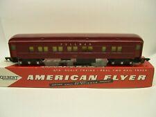 652 American Flyer Red Pullman Heavyweight Passenger Car [Lot L11-P8]