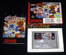 ON THE BALL Super Nintendo SNES Versione Europea PAL ○○○○○ COMPLETO