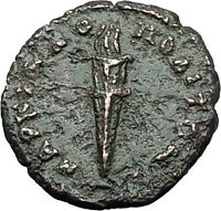 Elagabalus 218AD Marcianopolis FIRE TORCH Authentic Ancient Roman Coin i59529