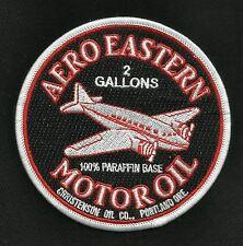 VINTAGE STYLE AERO EASTERN MOTOR OIL HOT ROD ROCKABILLY GREASER BIKER PATCH
