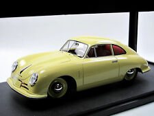 Cult Scale Models 1948 Porsche 356/2 Gmünd Coupé hellgelb 1/18 Resine-Modell