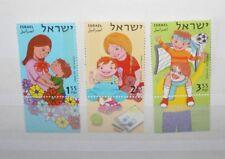 """FRANCOBOLLI ISRAELE ISRAEL 2007 """"FAMILY LOVE - CHILDREN"""" MNH** SET (CAT.Z)"""