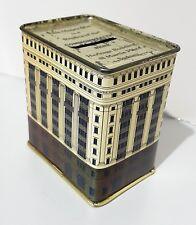 CBA Vintage COMMONWEALTH BANK OF AUSTRALIA Brown Heritage Building TIN MONEY BOX