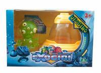 Exogini Ufogino Mr Blurp & Yellow Spaceship - (Damage Packaging) - EXG02110