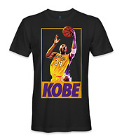 Kobe Bryant basketball NBA LA lakers legend going for the lay up t-shirt