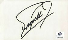 Fuzzy Zoeller Signed Autographed Index Card PGA Golf Legend Masters GX15998