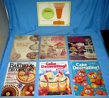 WILTON YEARBOOK cake decorating magazines LOT OF 7 birthdays WEDDING occasions!
