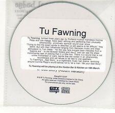(EH647) Tu Fawning, Sad Story - 2011 DJ CD
