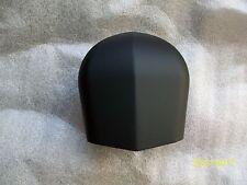 Harley horn cover-MATTE/DENIM BLACK POWDER COAT=glide/king/dyna/softail
