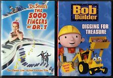 The 5,000 Fingers of Dr. T (DVD) & Bob The Builder - Digging For Treasure (DVD)
