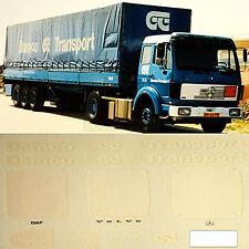 Mercedes Benz Damco Transporte Dinamarca (DK) 1:87 adhesivo pegatina camión