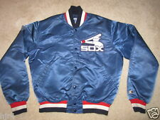 Chicago White Sox Old Logo Starter Dugout Players Jacket Mens Medium M