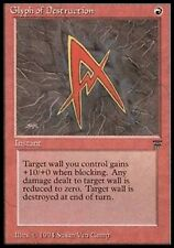 MRM ENGLISH Glyph of Destruction NM  MTG magic Legends