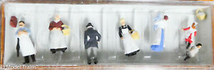 Preiser HO #12193 (1900s Figures -- At The Grocer's) (1:87th Scale)