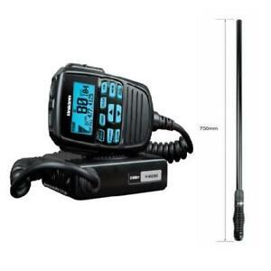 UNIDEN UH8060S 5W 80 CHANNEL RADIO + UNIDEN AT500BK 5.5dBi 73CM BLACK ANTENNA