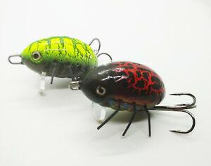 HUNTER BROMBA Lipinski June Bug Insect Bait Surface Fishing Lure Asp Chub Ide