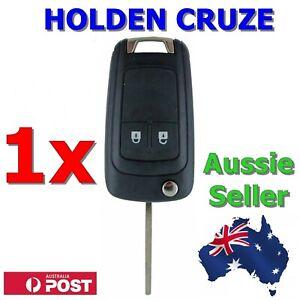 Holden Barina/Cruze/Trax 2 Button Remote Flip Key Blank Shell/Case/Enclosure/Fob