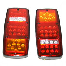 2x 24V Truck Rear Tail Lights Stop For Man Volvo Scania Daf Fiat Iveco Mercedes