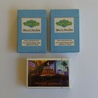 Lot of 3 Las Vegas Tropicana 4 Queens Playing Cards