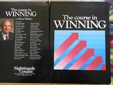 Dennis Waitley Course in Winning Two Cassette Tapes plus case