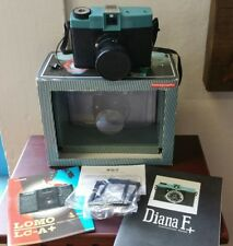 Lomography Diana F+ Medium Format Film Camera with Book Manual Small Frame & Cap