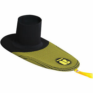 Nookie Absolute Spray Deck Yellow Black Whitewater River Kayak Latex UK Made