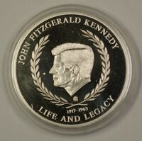 Life of John F. Kennedy Series Inauguration January 20th 1961 Proof Medal