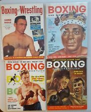 1957 thru 1965 Boxing and Wrestling   10 total
