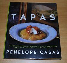 Tapas: The Little Dishes of Spain by Penelope Casas NEW
