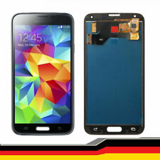 Für Samsung Galaxy S5 SM-G900F i9600 LCD Screen Digitizer Assembly Schwarz BT02