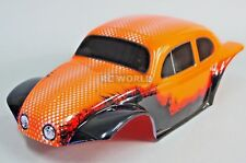 RC 1/10 Truck BODY BAJA Monster BEETLE BUG Rock Crawler 313mm -PAINTED- ORANGE