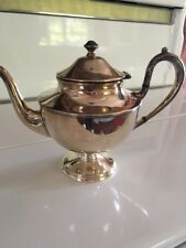 Vintage Sheffield Reproduction Middleton, CT silver plate teapot
