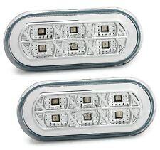 LED Seitenblinker Set mit 6 LED's für FORD VW SEAT in Chrom Blinker Klarglas