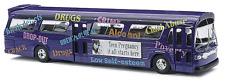 HO Busch 1959 Teen Pregnancy Info  TDH-5301 GMC Fishbowl City Bus 44504