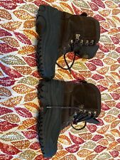 Mens Size 7 Snow Boots Leather Quest Thinsulate Removable Liners Hardly Used