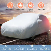 Universal XXL Full Car Cover Snow Sun UV Rays Protection Waterproof Breathable
