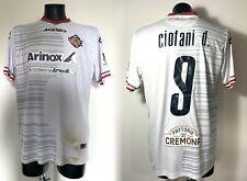 Ciofani Cremonese maglia indossata vs Lecce 2020 2021 match worn shirt UNWASHED