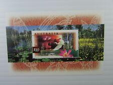 1997 Australia  SC #1535a  KAKADU WETLANDS  MH Souvenir Sheet