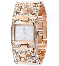 New GUESS Women's Rose Gold Bracelet Watch U15027L1 w/ original box
