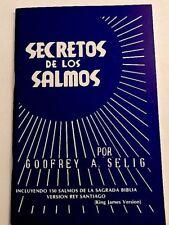 Secretos De Los Salmos by Por Godfrey A  Selig  Espanol Spanish Version