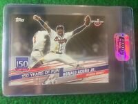 2019 Topps Opening Day 150 Years of Fun #YOF-24 Ronald Acuna Jr. Braves C4RD5