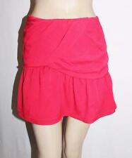 Dotti Brand Raspberry Red Chiffon Short Skirt Size 14 BNWT #SK07
