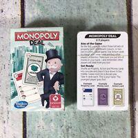 MONOPOLY DEAL CARTAMUNDI HASBRO, MORRISONS 2014 PROPERTY CARD GAME