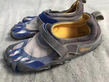 Vibram BIKILA FiveFingers Unisex Size 43 M349 Barefoot Shoes Gray Blue SC8