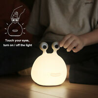 LED Night Light Touch Switch USB Rechargeable Bedside Desk Lamp Baby Kids Gifts