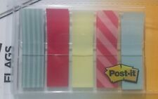 "Post-it Flags Designer Collection School Supply Student Teacher Size 0.47""X 1.7"""